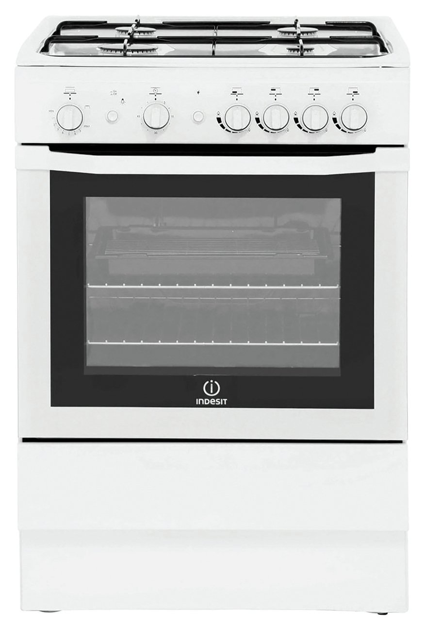 Indesit I6GG1W/ Freestanding Cooker - White