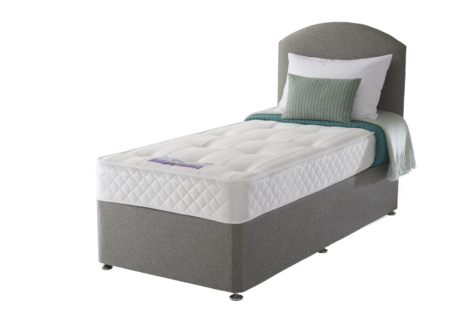 Sealy - Posturepedic Firm Ortho Single - Divan Bed at Argos