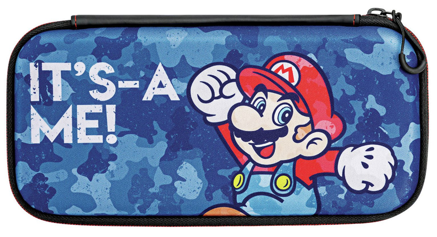 PDP Nintendo Switch Slim Travel Case - Mario Camo