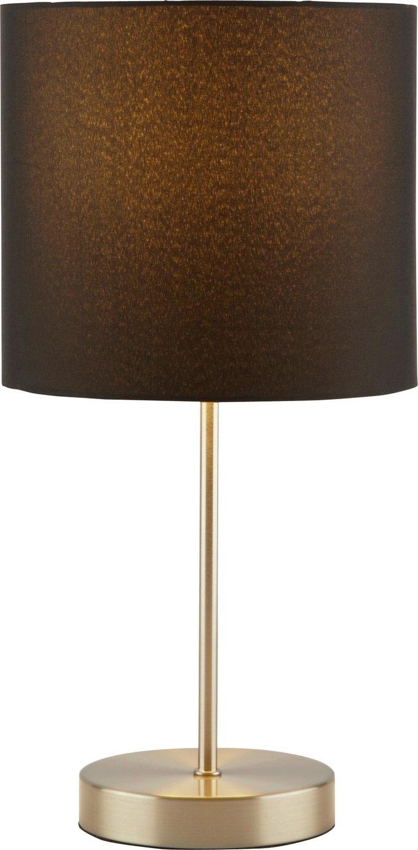 Argos Home Satin Stick Table Lamp - Jet Black
