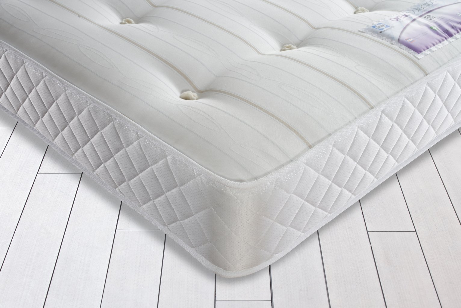 Sealy - Posturepedic Firm Ortho - Single Mattress at Argos
