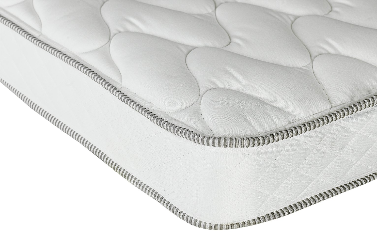 Silentnight - Ashley Regular - Single Mattress - White at Argos