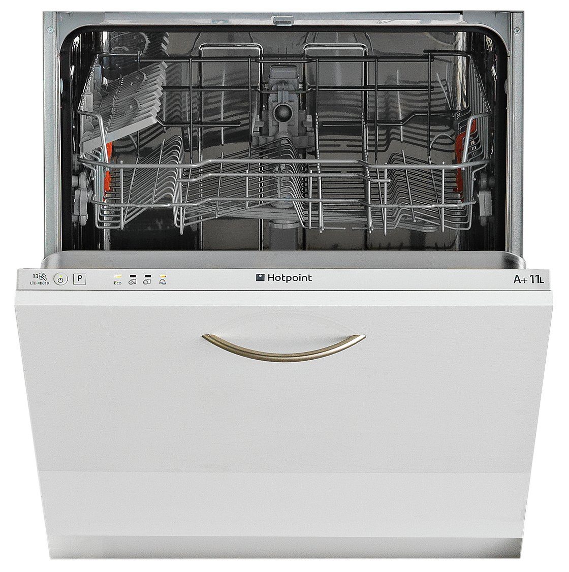 Hotpoint  LTB4B019 Full Size Integrated Dishwasher - White