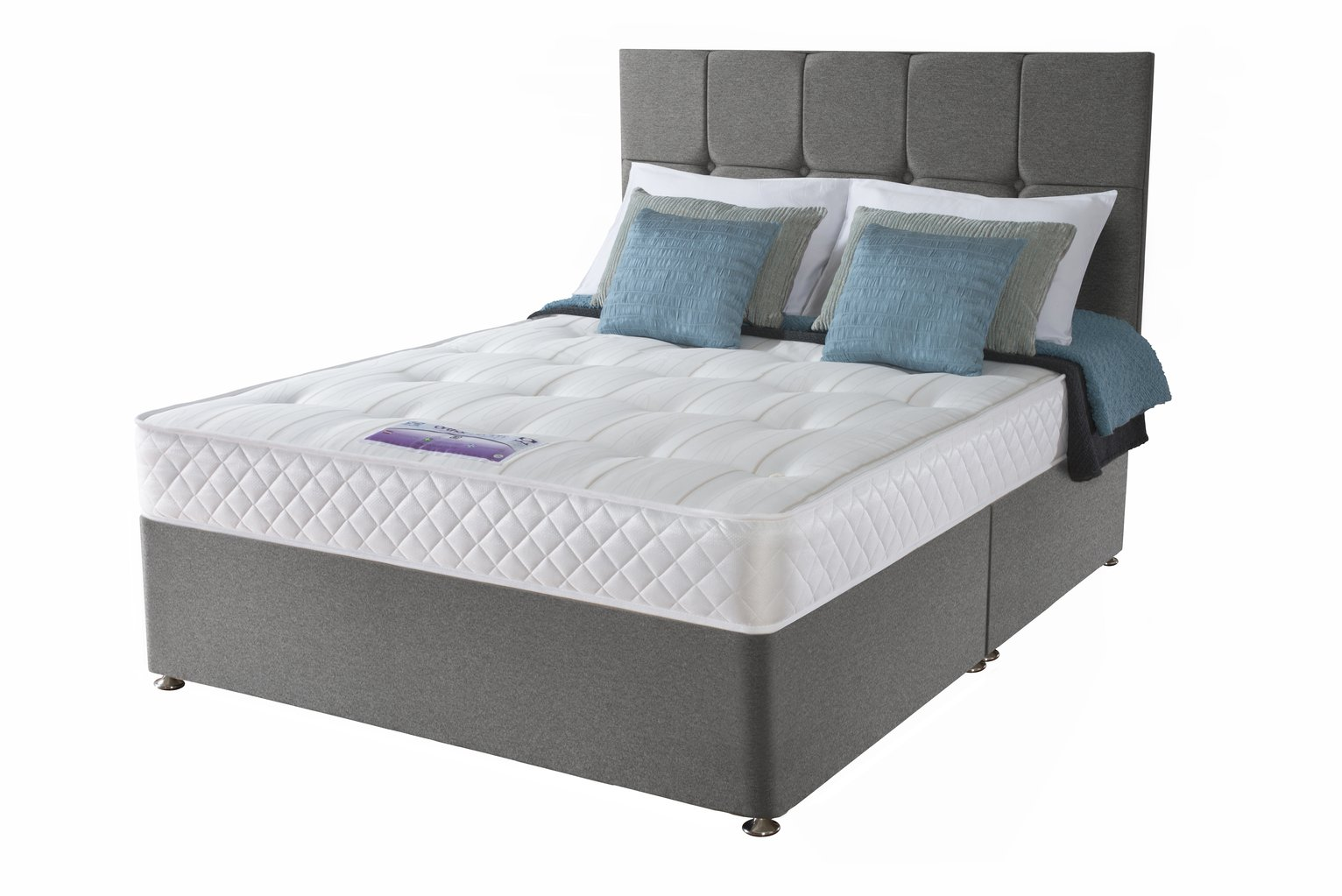 Sealy - Posturepedic Firm Ortho - Double - Divan Bed at Argos