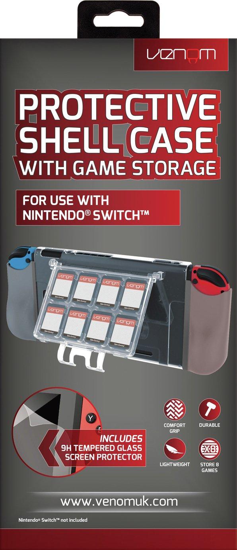 Venom Hard Shell Case for Nintendo Switch with Storage