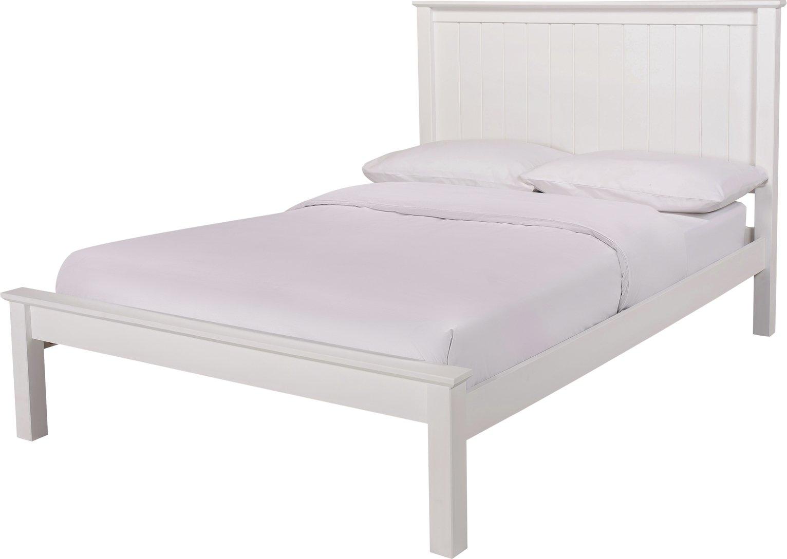 Argos Home Grafton Double Bed Frame - White
