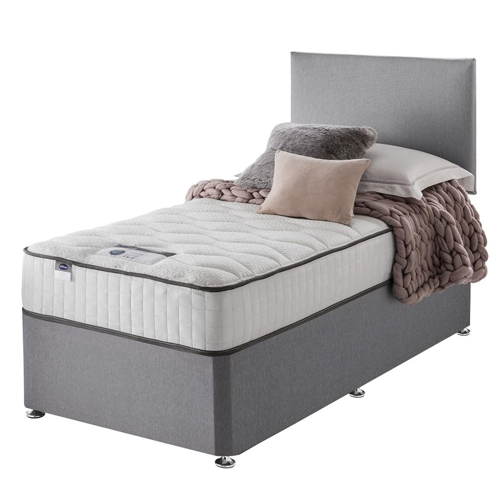 Silentnight - Middleton Pocket Memory Single - Divan Bed at Argos