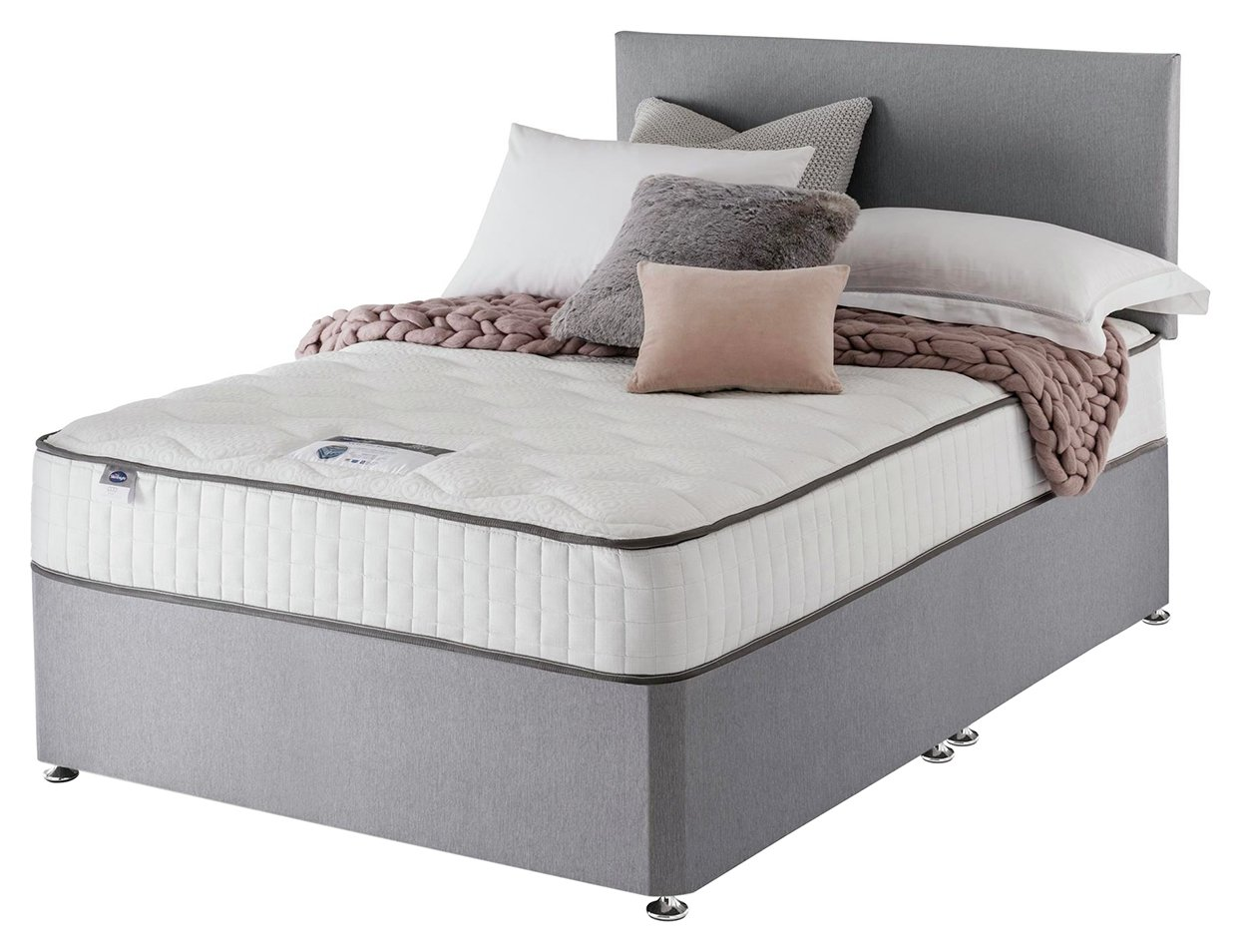 Silentnight - Middleton Pocket Memory - Kingsize - Divan Bed at Argos