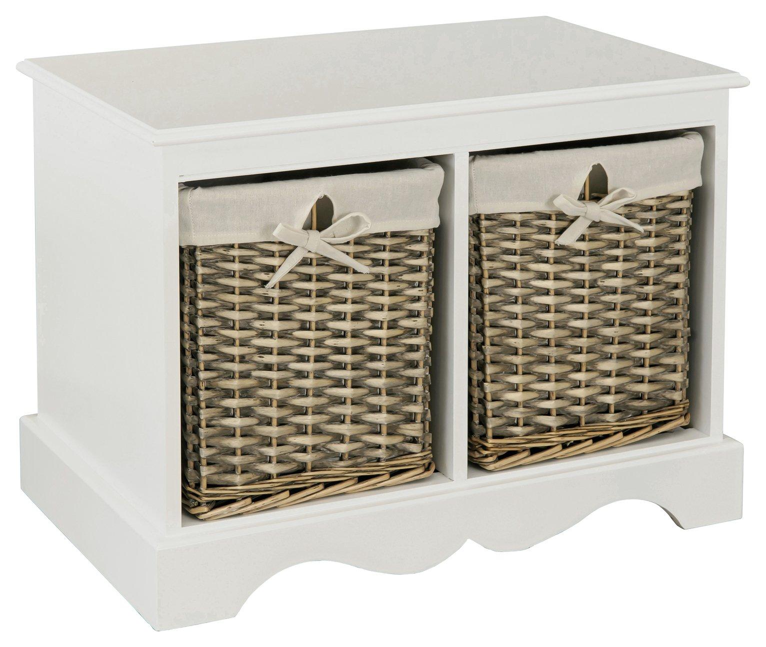 Awesome Argos Home New Malvern Hallway Shoe Storage Bench White Pdpeps Interior Chair Design Pdpepsorg