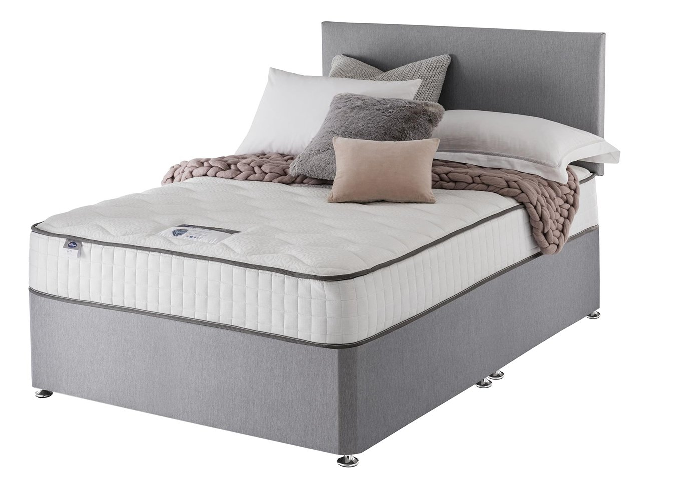 Silentnight - Middleton Pocket Memory - Double - Divan Bed at Argos