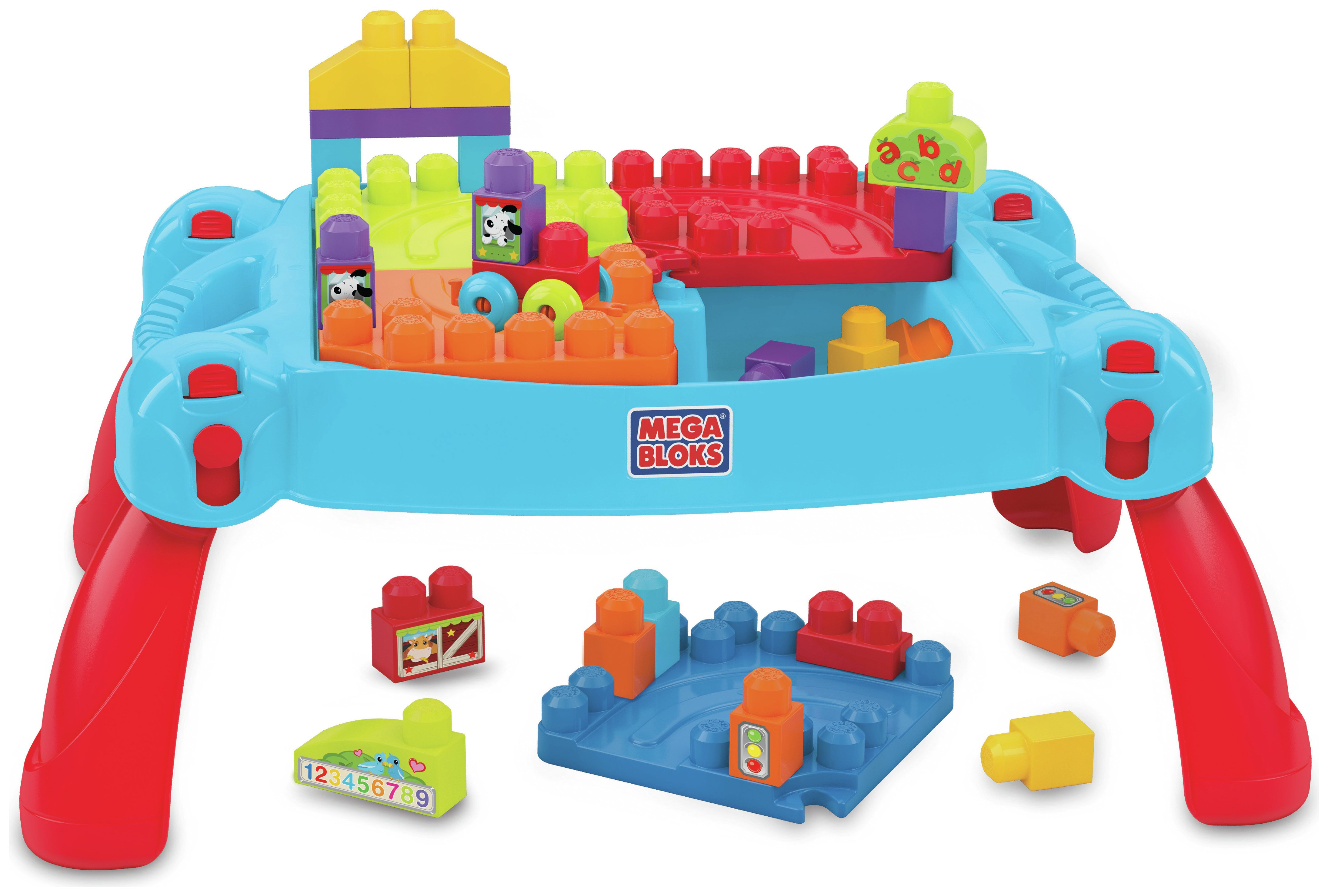 Mega Bloks - First Builders Build 'n' Learn Table