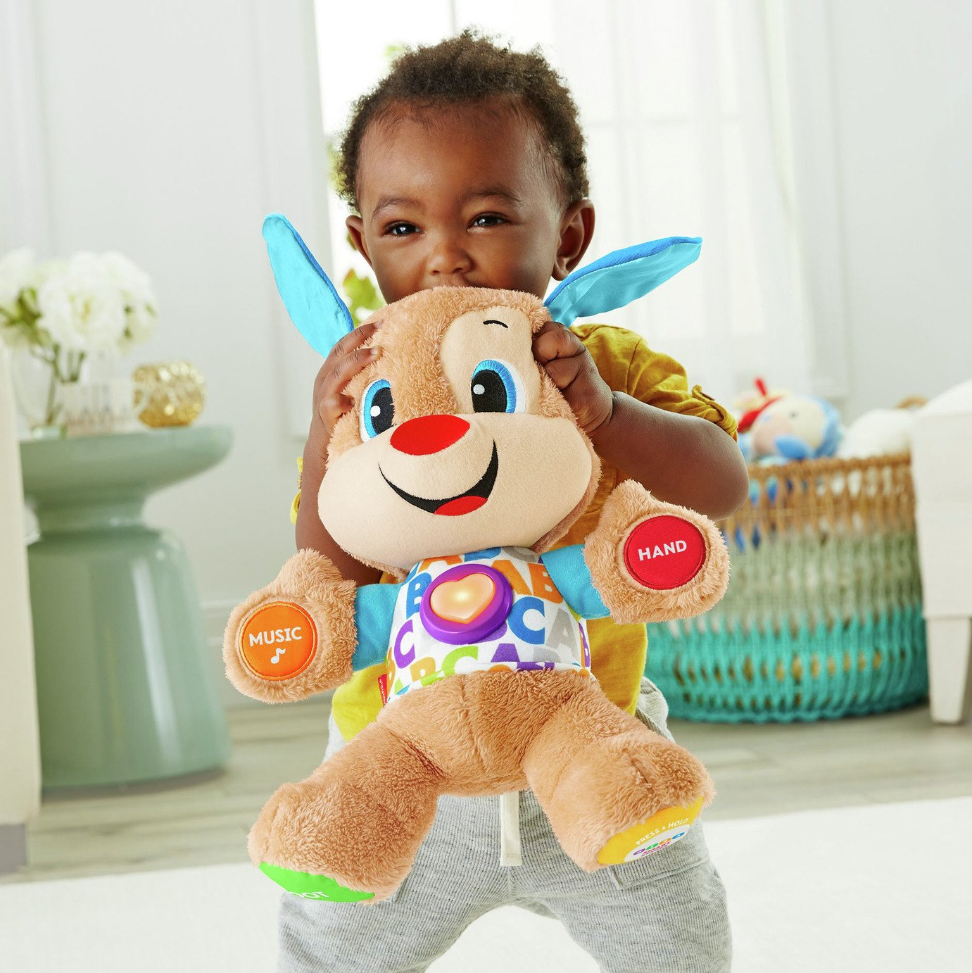 Fisher-Price - Laugh and Learn Smart Stages Puppy