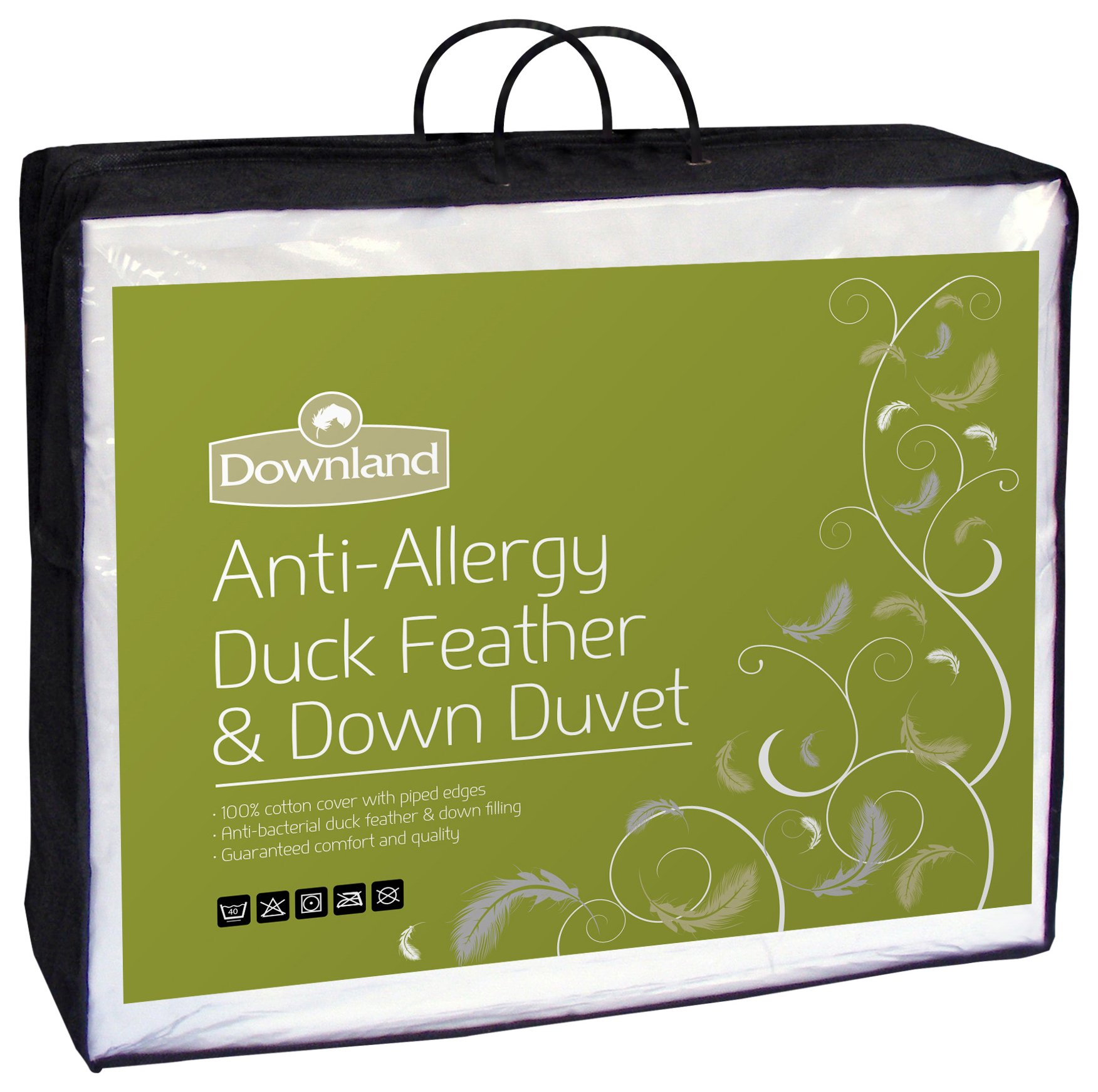 Downland - 135 Tog Duck, Feather and Down - Duvet - Single
