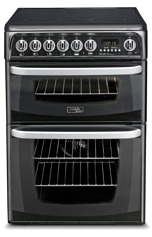 Hotpoint CH60EKKS Electric Cooker - Black