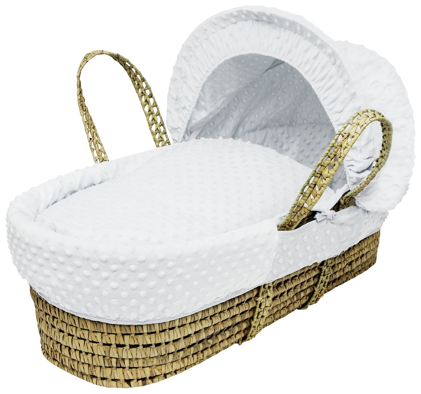 Kinder Valley White Dimple Moses Basket