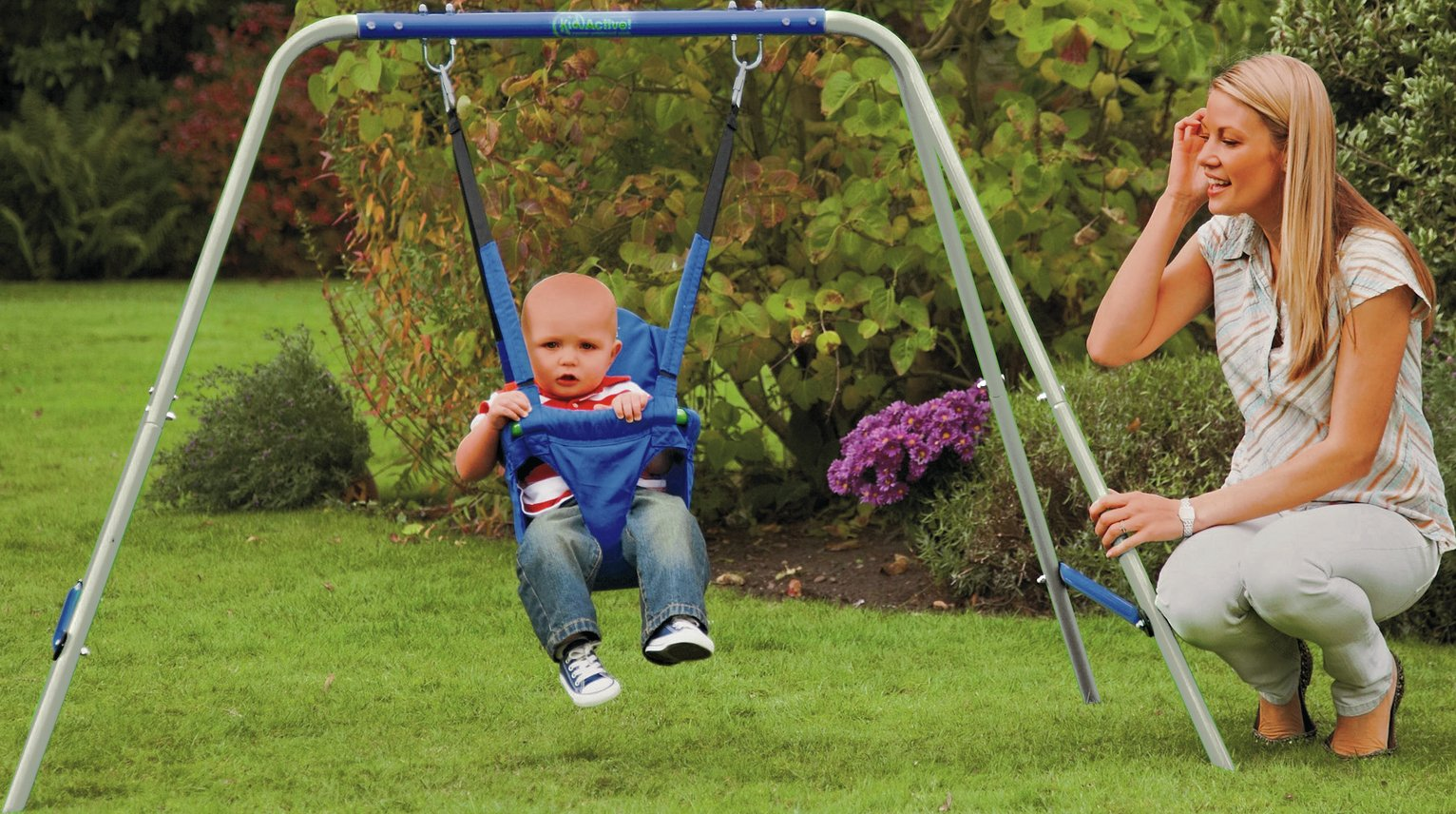 Chad Valley - Kids Active 2-in-1 Swing