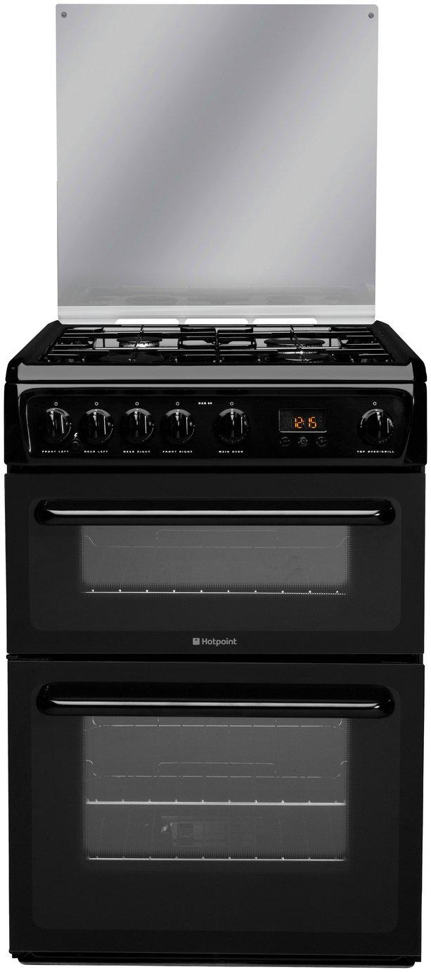 Hotpoint - HAGL60K Freestanding Cooker - Black