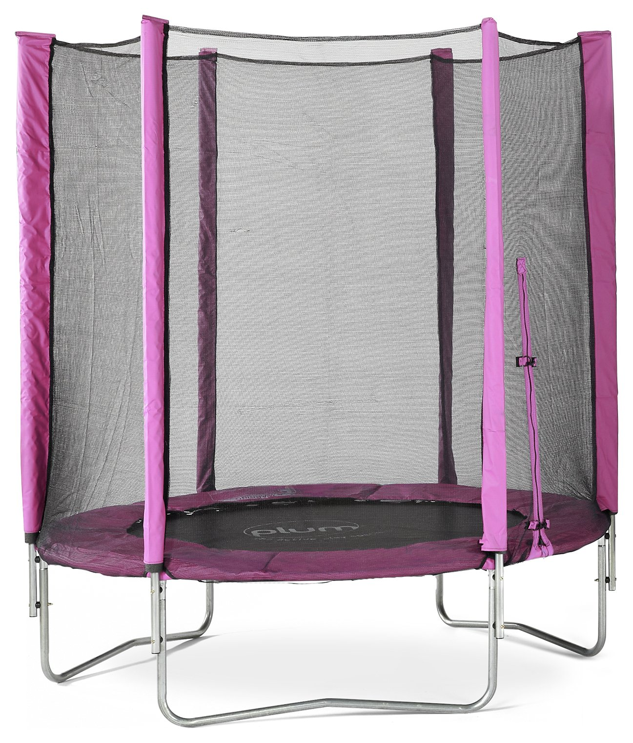 Plum - 6ft - Trampoline and Enclosure Pink