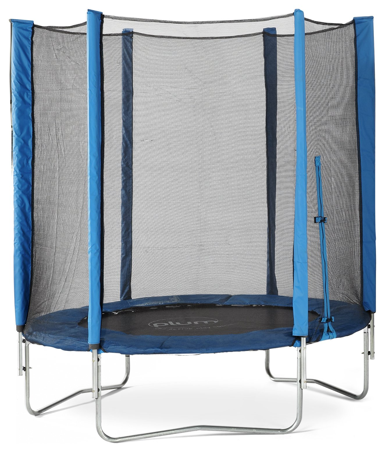 Plum 6ft Trampoline with Enclosure - Blue
