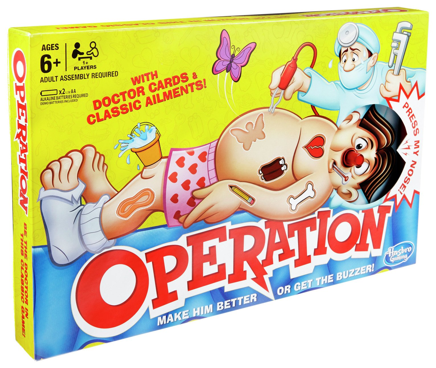 Operation Board Game from Hasbro Gaming