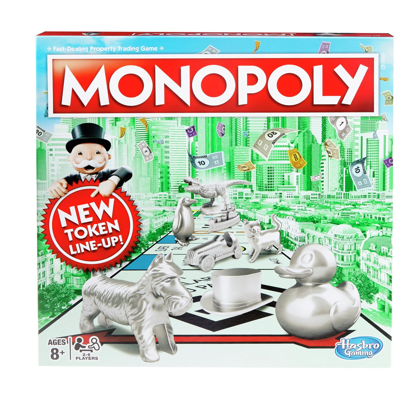 Monopoly Classic Board Game from Hasbro Gaming.