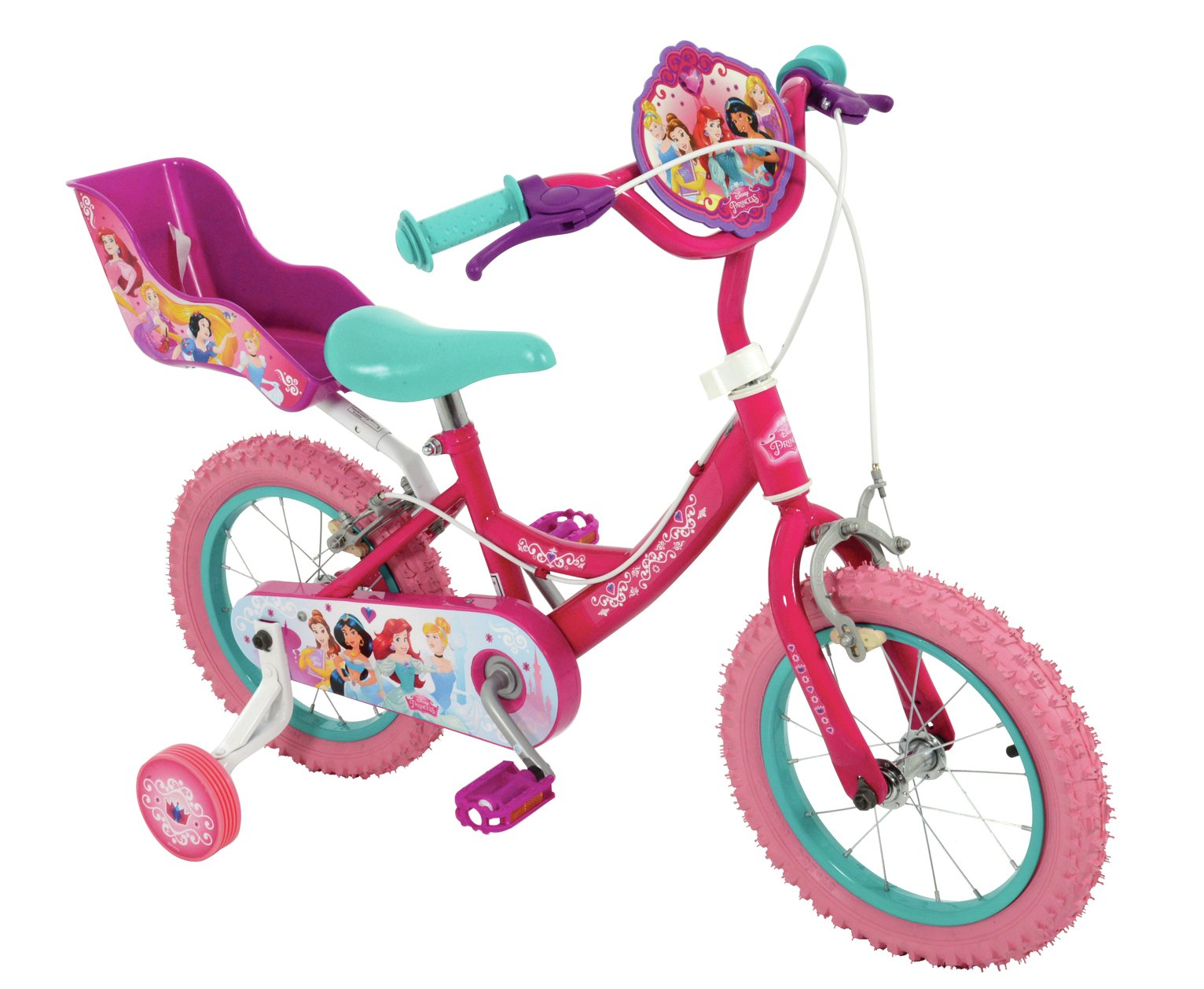 Disney - Princess 14 Inch - Bike - Girls