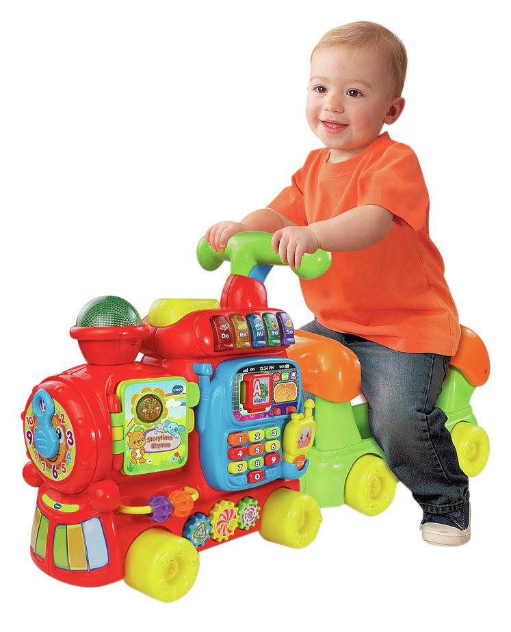 VTech - Push and Ride Alphabet Train