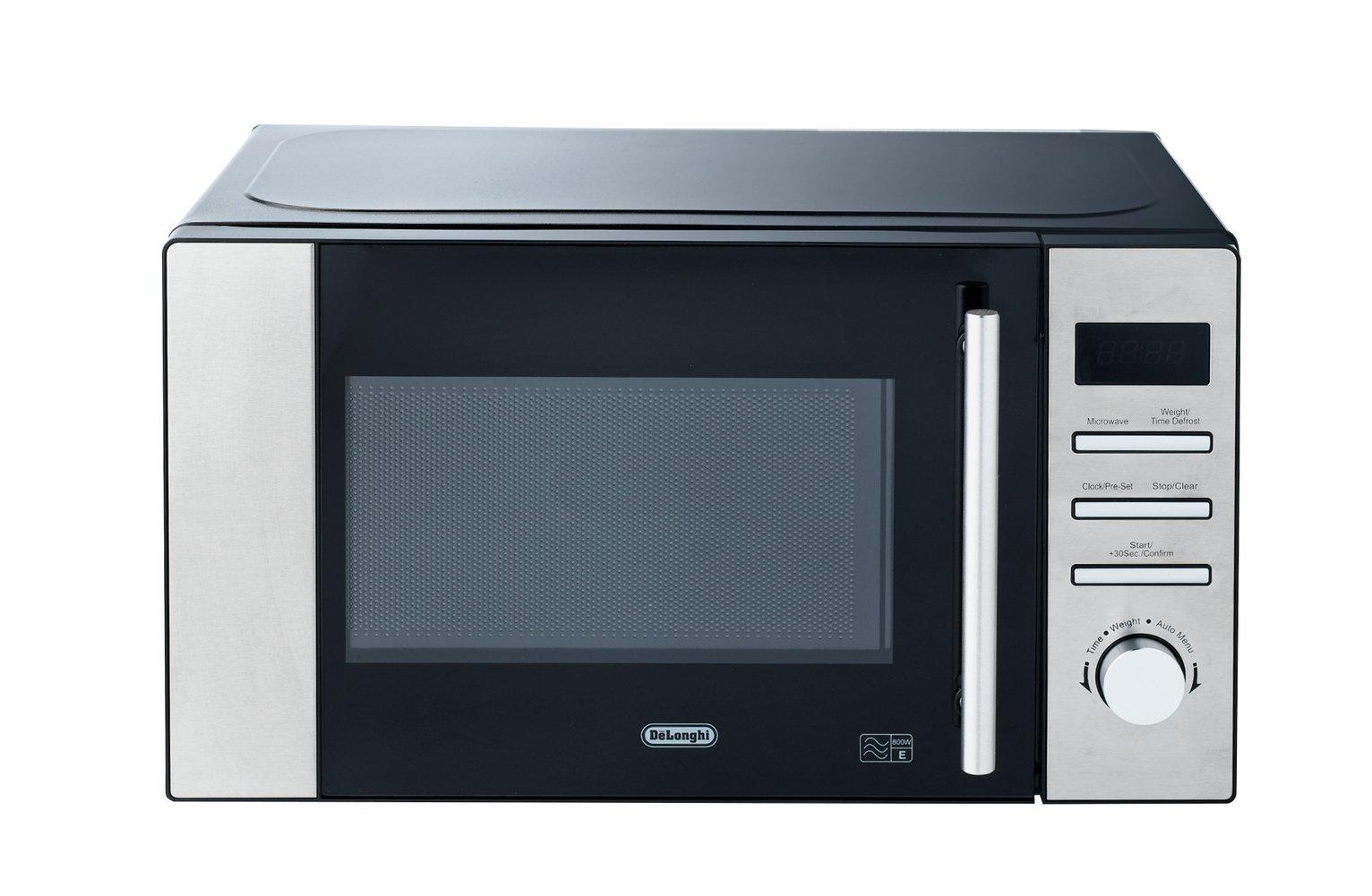 De'Longhi - Standard Microwave - AM82CXC -Stainless Steel