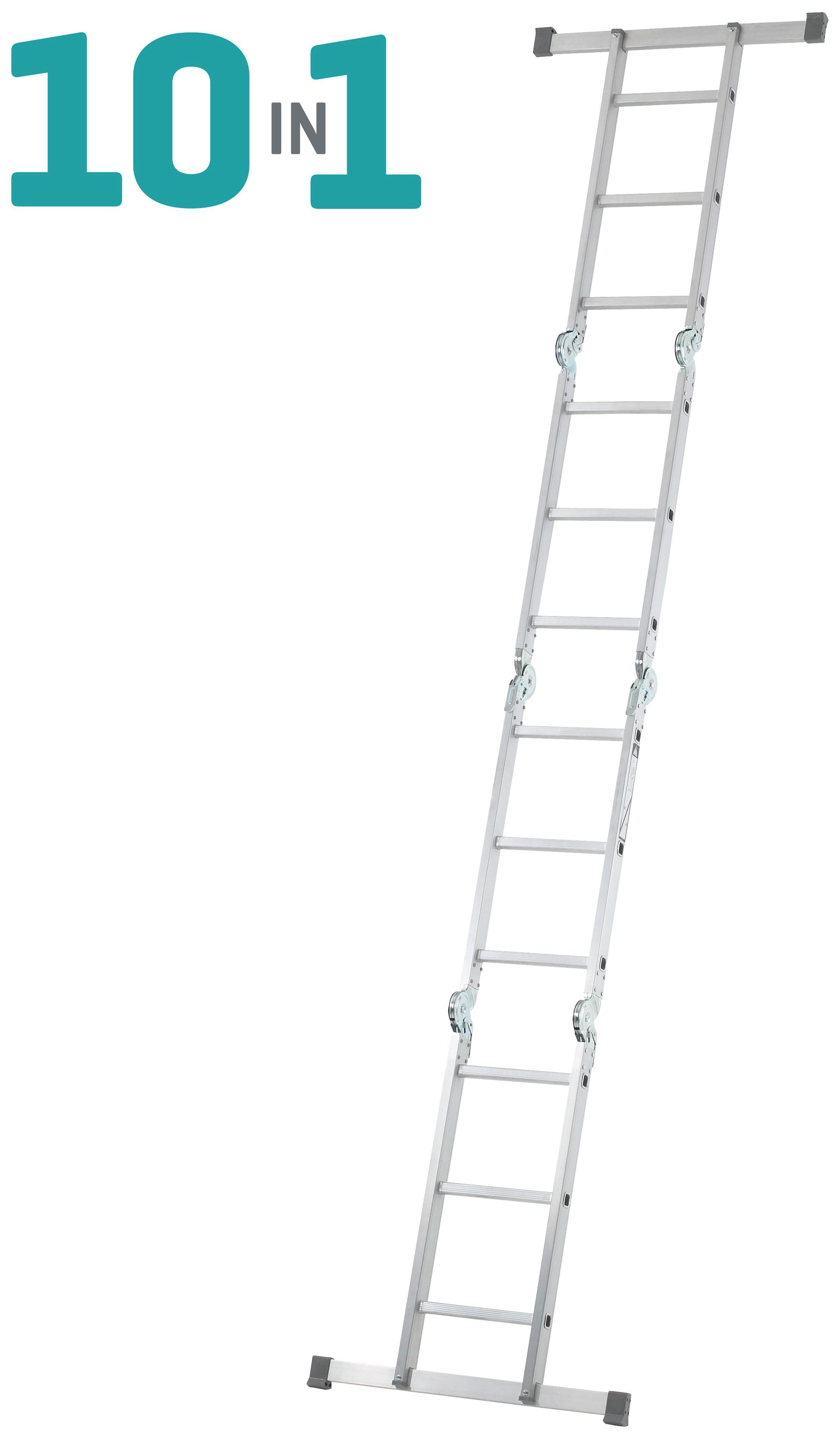 Abru - Multi-Purpose Ladder 10 In 1 403M Max *SWH
