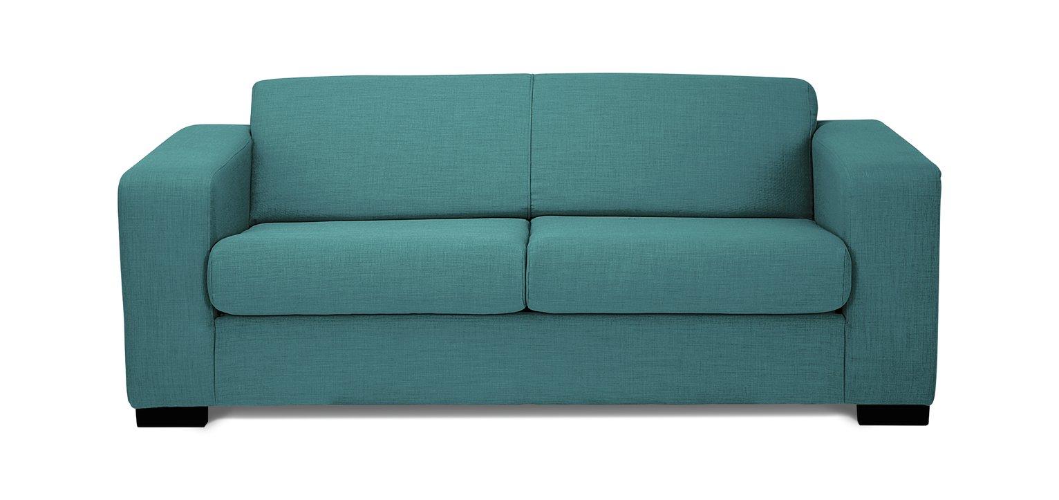 Argos Home - Ava - 2 Seater Fabric - Sofa Bed - Teal at Argos