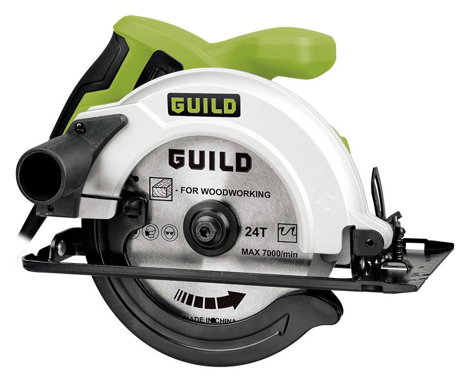 Guild 210nm Sliding Mitre Saw With Laser 1700w