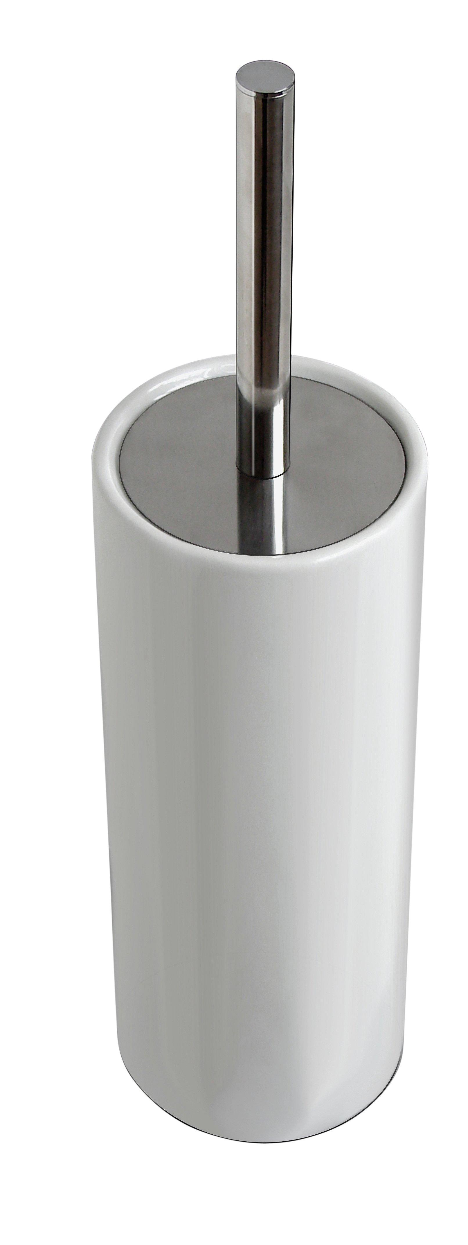 Argos Home Ceramic Toilet Brush Holder White 4625106