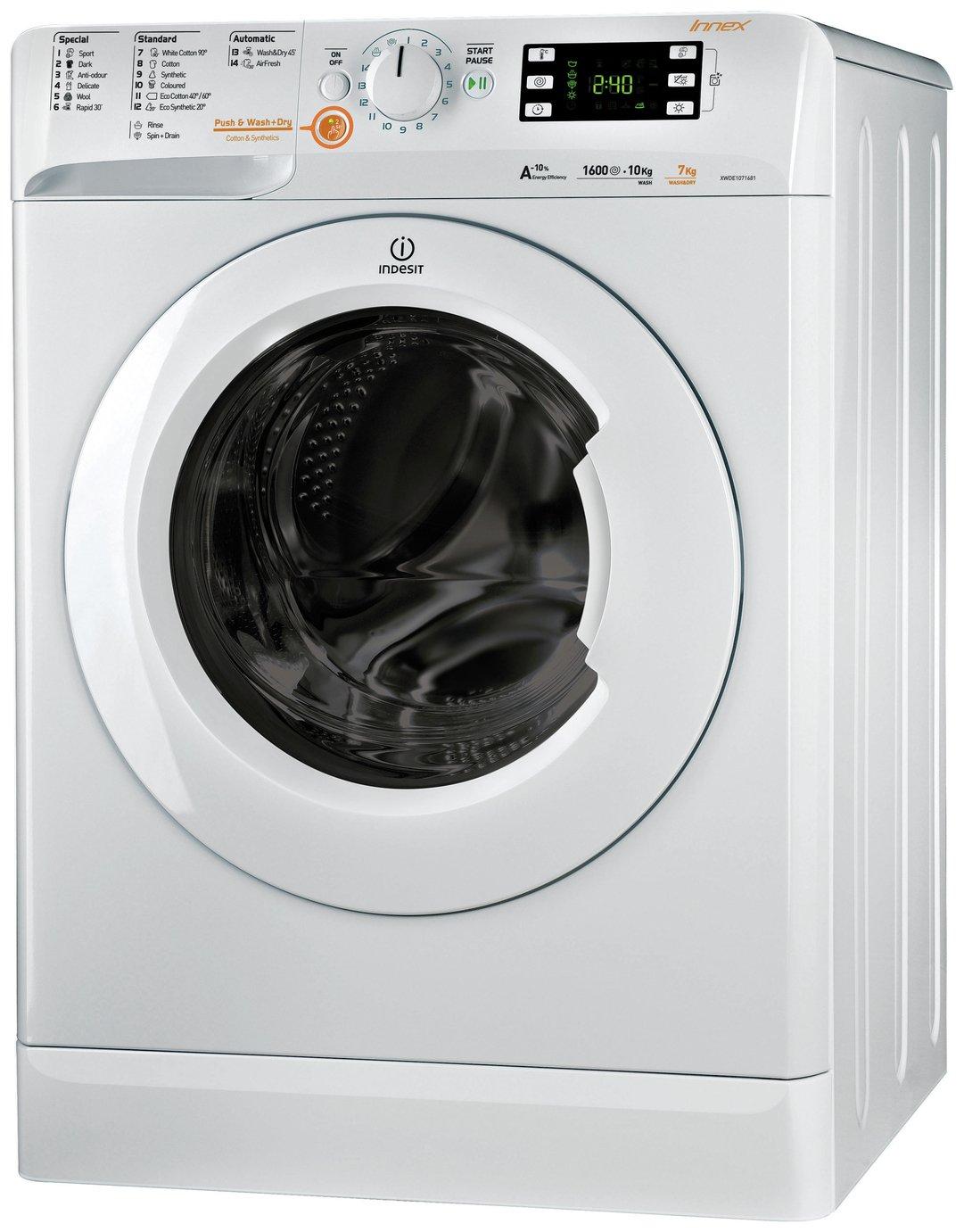 Indesit - XWDE751480XW 7KG 1400 Spin - Washer Dryer - White