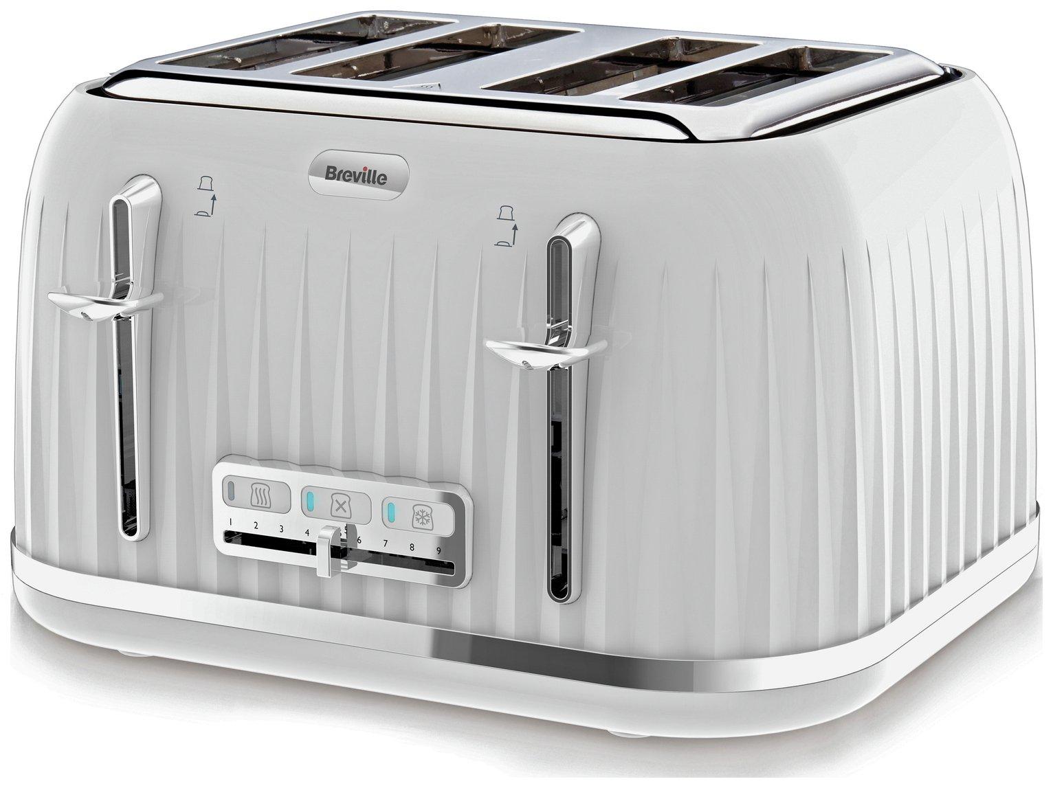 Breville - Toaster - VTT470 Impressions - 4 Slice - White