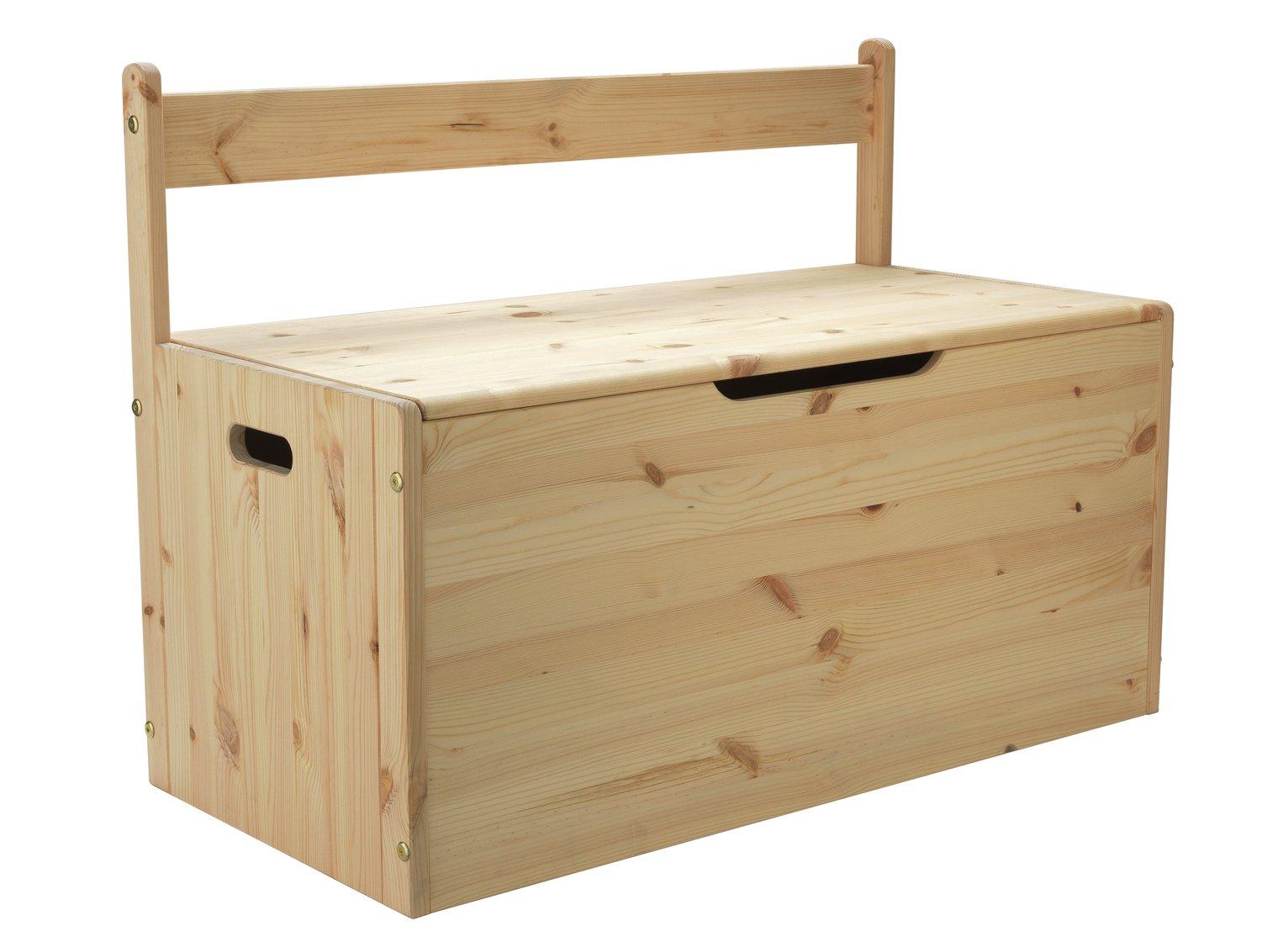 Argos Home Scandinavia Pine Extra Large Toy Box