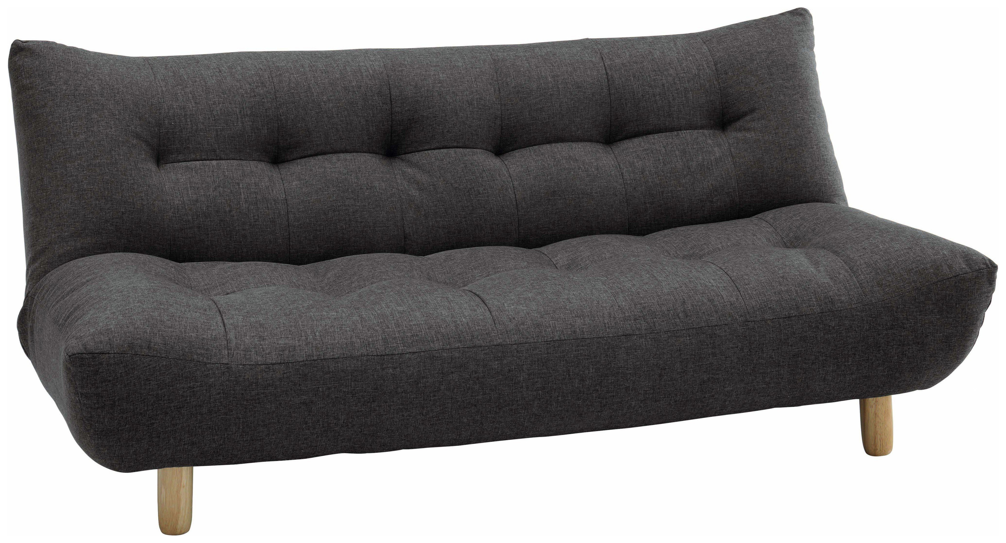 Astounding Habitat Kota 3 Seater Fabric Sofa Bed Charcoal 5017737 Caraccident5 Cool Chair Designs And Ideas Caraccident5Info