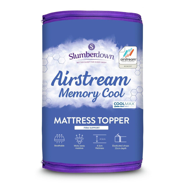 Slumberdown - Memory Fibre Airstream - Mattress Topper - Single