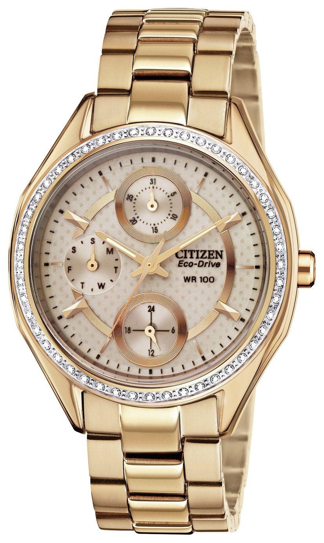 Citizen Eco-Drive - Ladies Rose Multidial Bracelet - Watch