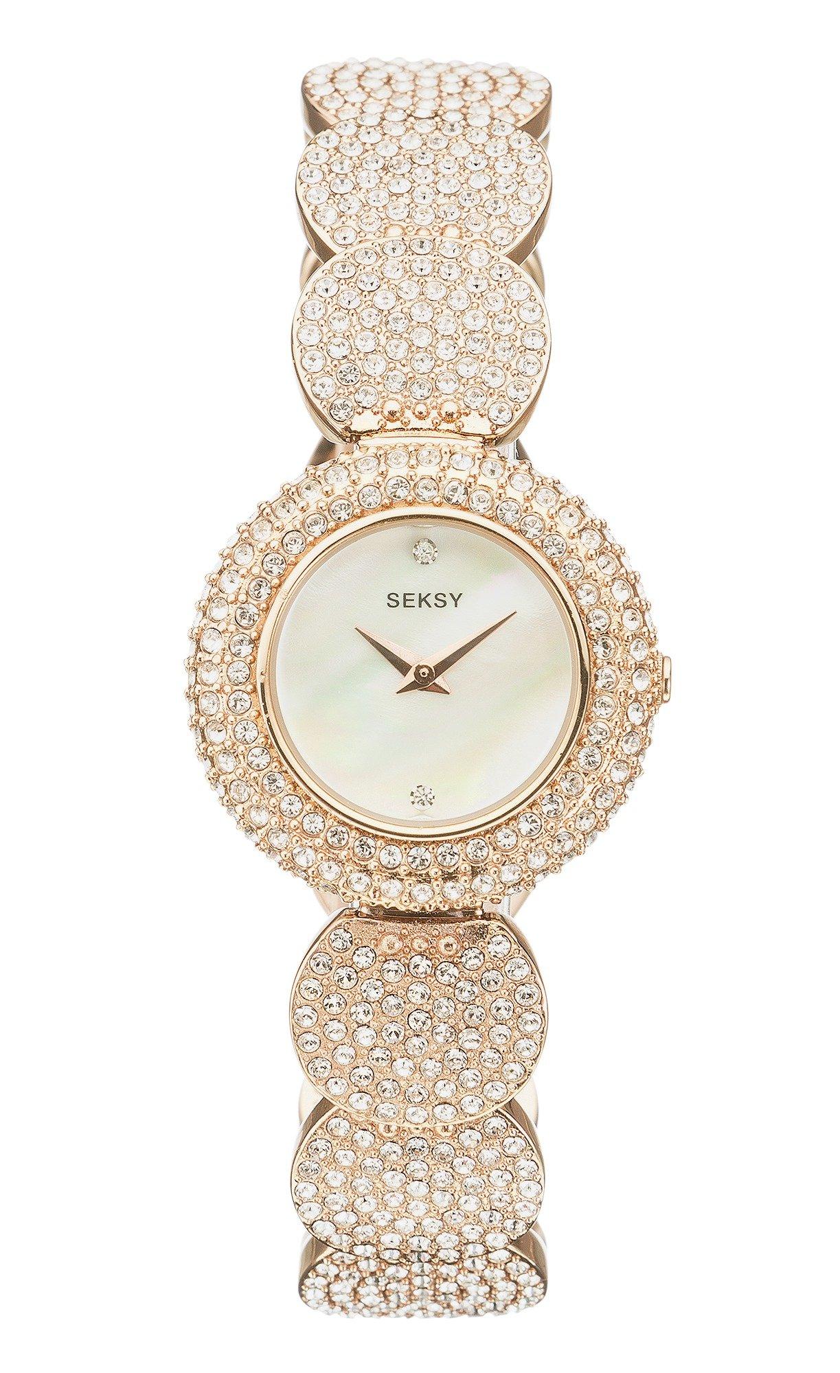 Seksy - Ladies Gold Plated Bracelet - Watch