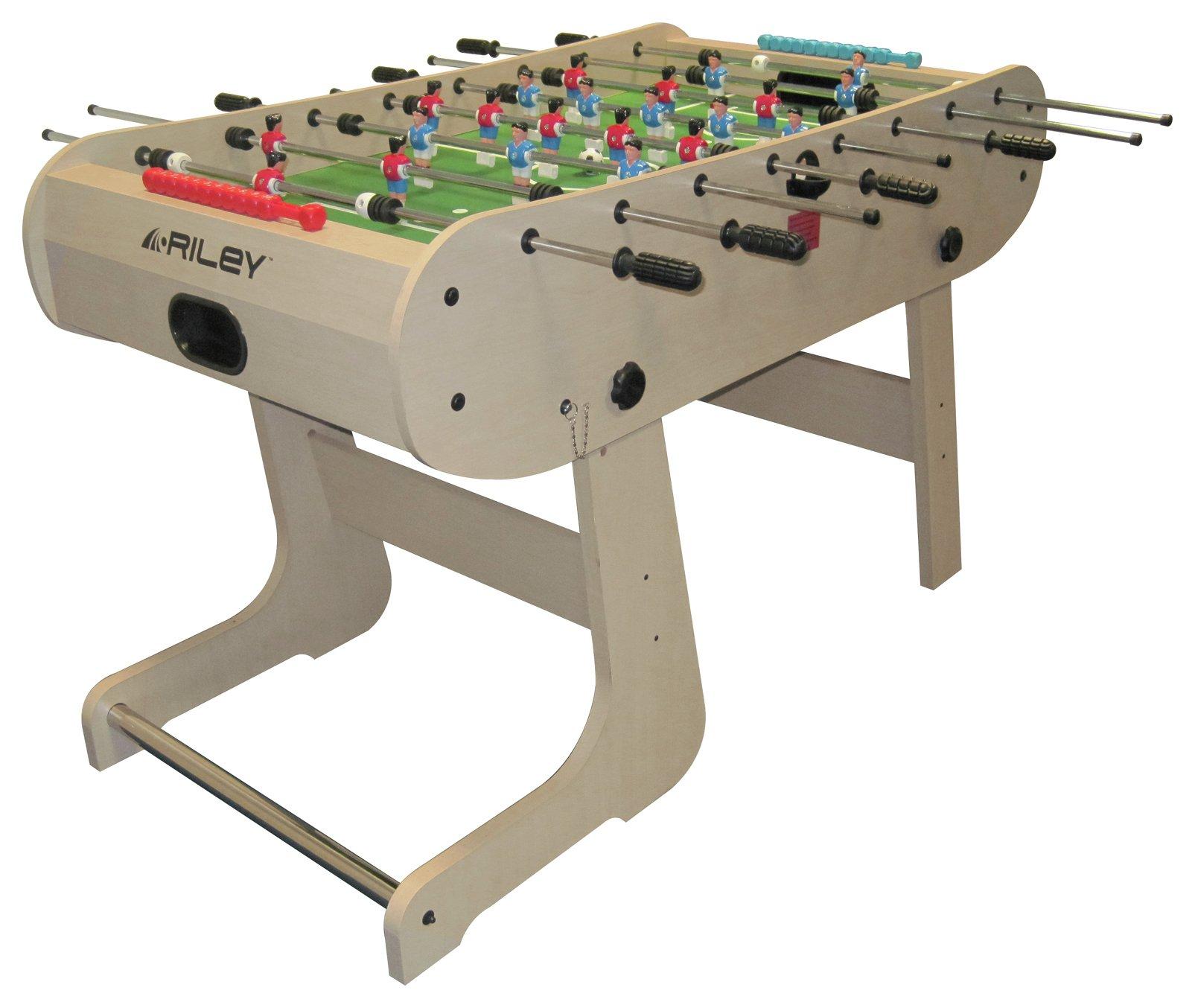 Riley 4'6 inch Folding Football Table.
