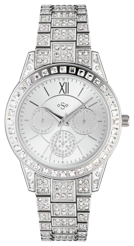 Spirit - Ladies Stone Set Bracelet Multidial - Watch