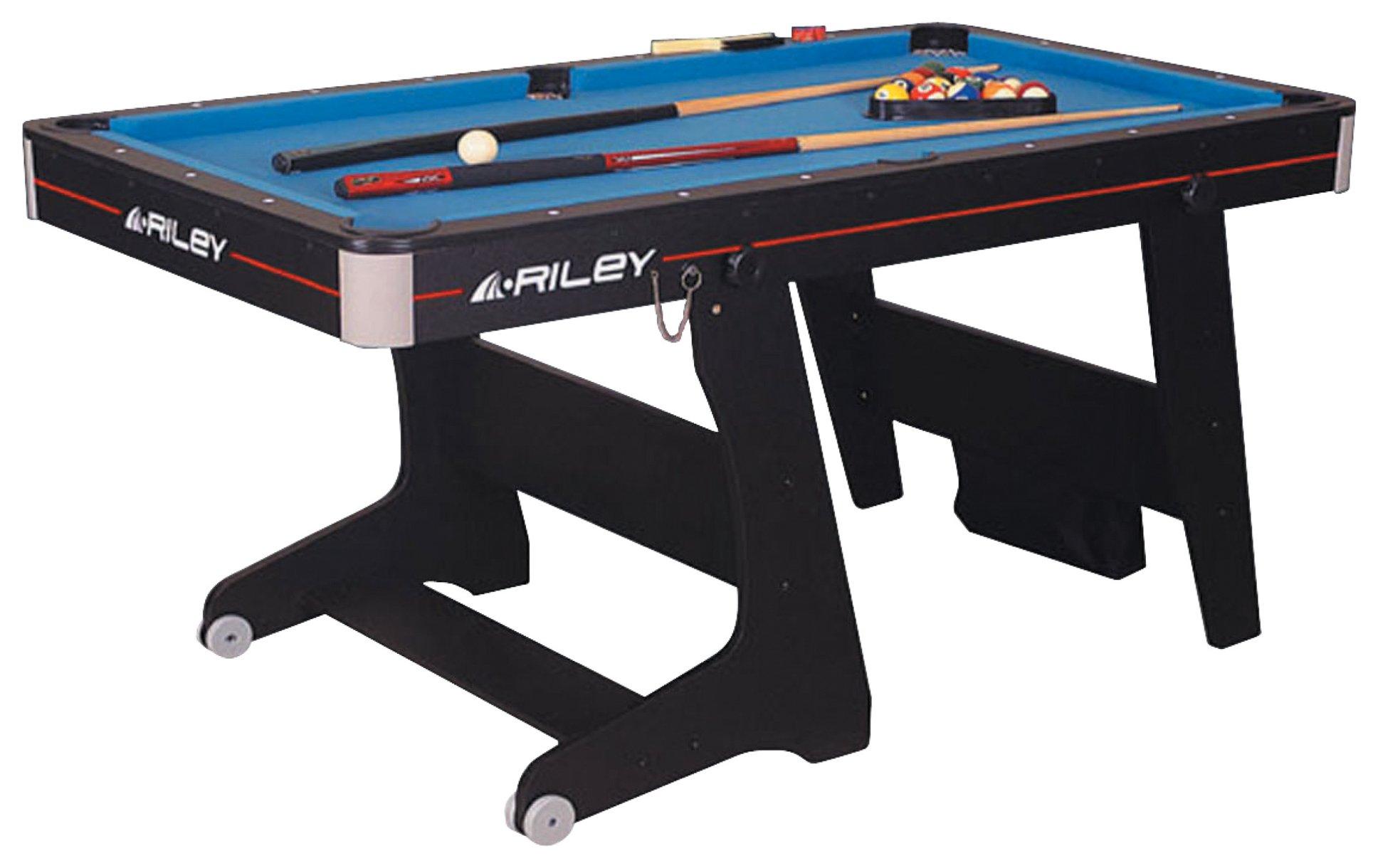 Riley 5' Folding Pool Table.