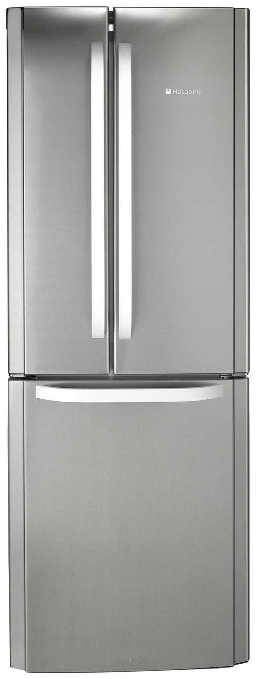 Hotpoint FFU3DX American Fridge Freezer - Stainless Steel