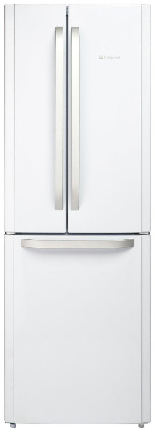 Hotpoint - FFU3DW American - Fridge Freezer - White