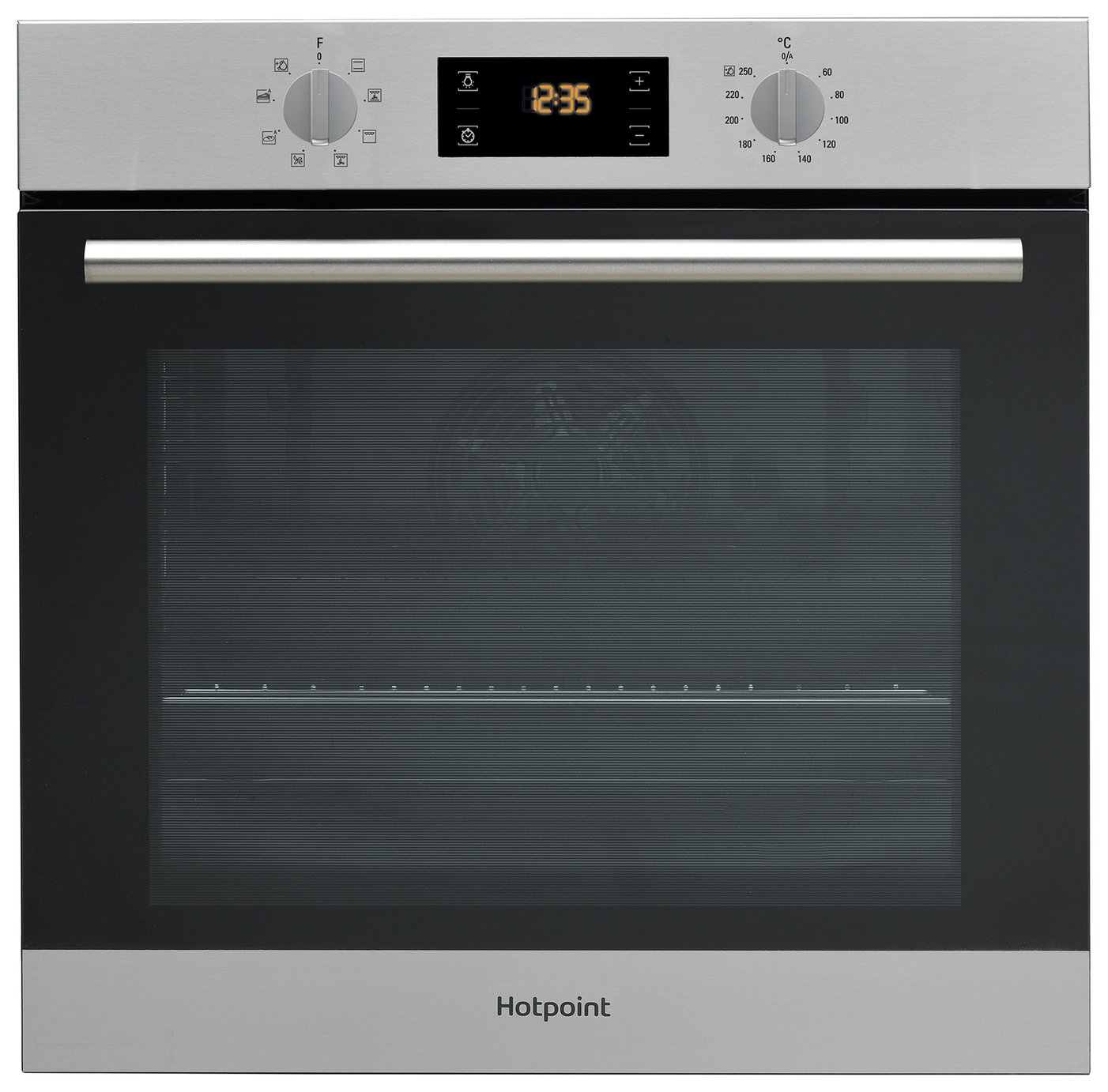 Hotpoint SA2540HIX Built In Single Oven - Stainless Steel