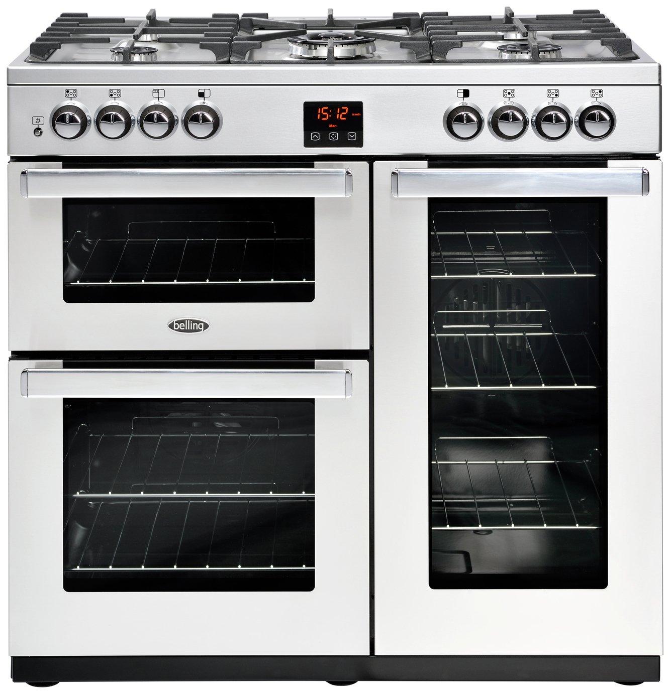 Belling Cookcentre 90DFT Dual Fuel Range Cooker
