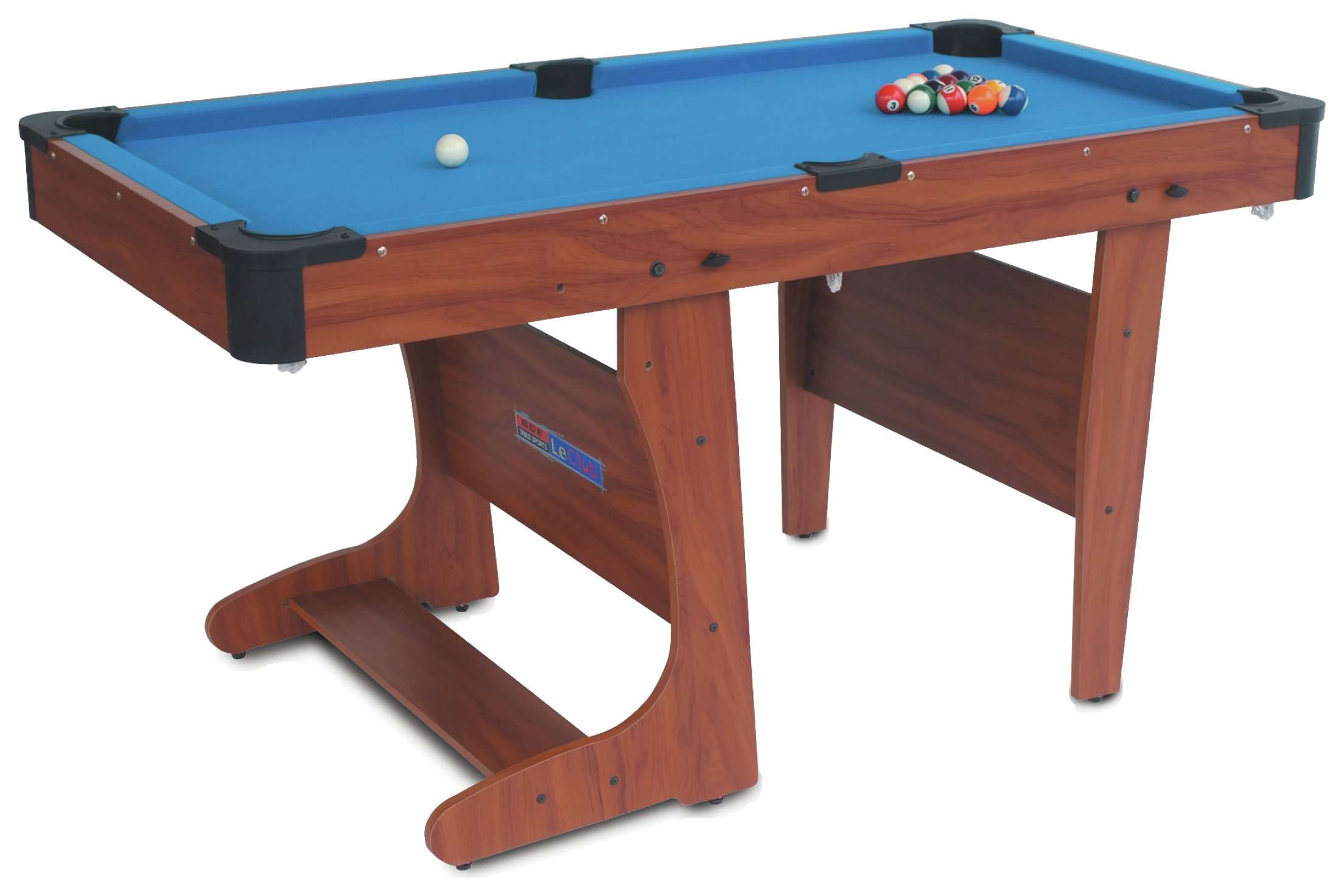 BCE 6ft Clifton Folding Pool Table
