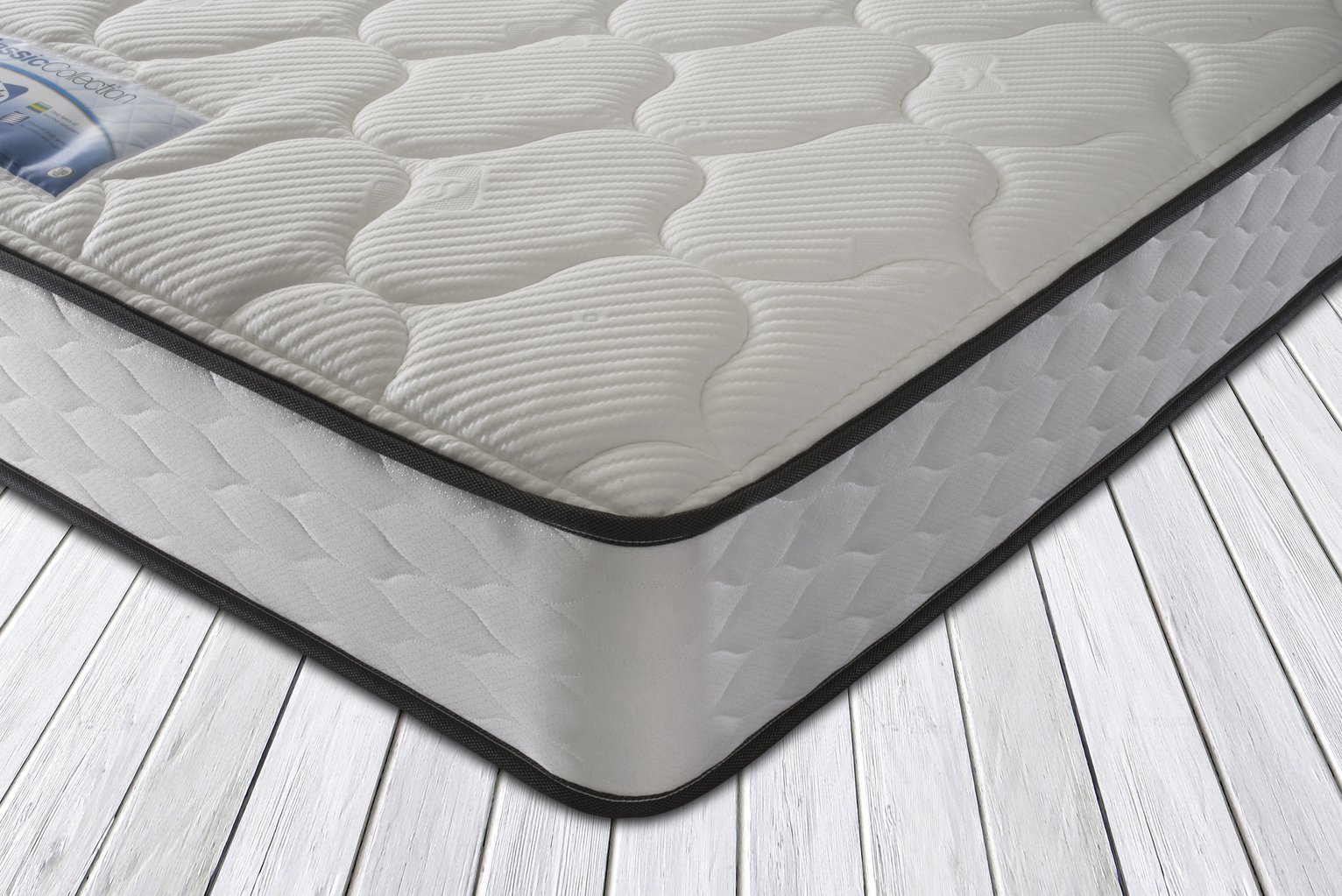 Sealy - 1400 Pocket Micro Quilt Mattress - Double at Argos