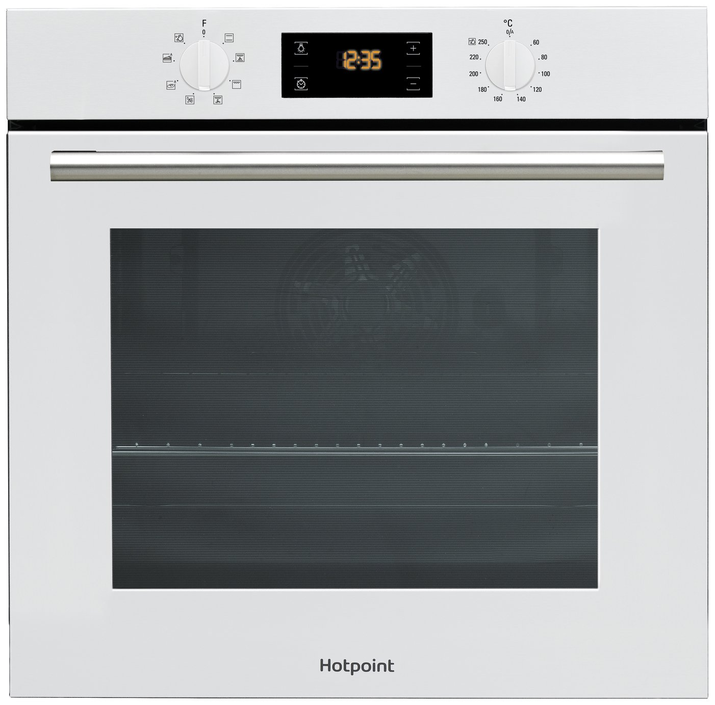 Hotpoint - SA2540HWH Electric Fan Oven - White