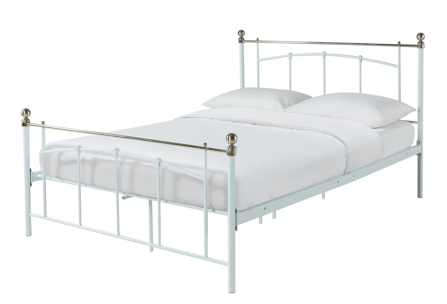 Argos - Yani - Small - Double - Bed Frame - White